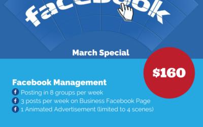 March Facebook Special