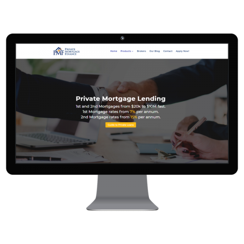Private Mortgage Finance